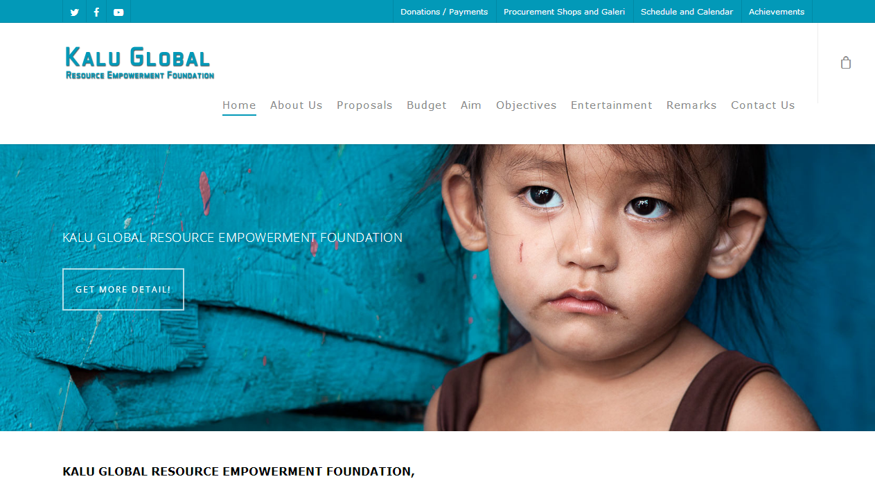 Title is Global Foundation Portal