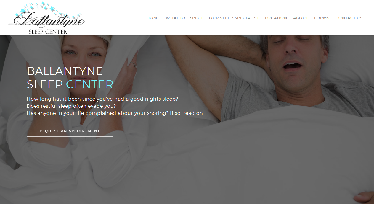 Sleep Center Portal