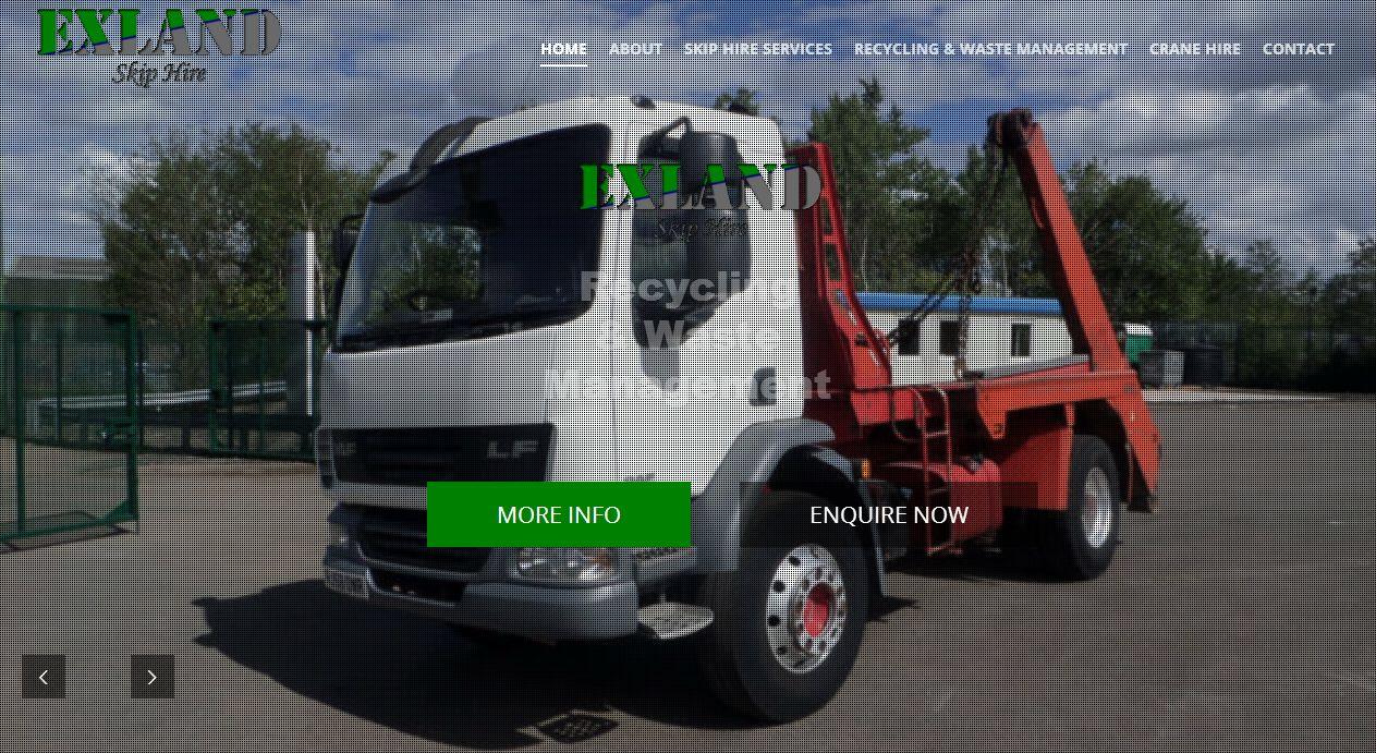 Skip Hire Services Portal